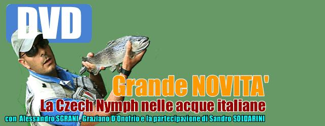 La czech nymph nelle acque italiane